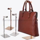 Edelstahl-Handtaschen-Beutel-hängender Zahnstangen-Tisch-Halter-Ausstellungsstand