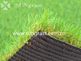 gazon de synthétique de 40mm pour le jardin ou l'horizontal (SUNQ-HY00130)
