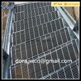 Plataforma galvanizada Escalera / ISO serrado huellas de escalón de rejilla