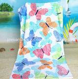 昇進の使用のための熱い販売法の綿のMicrofiberの印刷のビーチタオルの浴室タオル