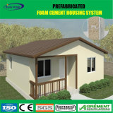 Casa prefabricada/casero de lujo/chalet, casa de la casa prefabricada del edificio de la estructura de acero
