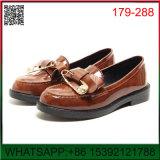 Nuevo diseño de doble hebilla plana G Zapatos dama