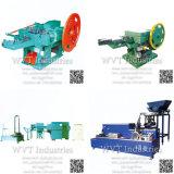L'acier à haute vitesse automatique du fil de fer Nail Making Machine Chine prix d'usine/bobine clou et torsion à filetage par roulage Machine pour l'égide de toiture en béton clou