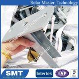 강철 선반 지붕 태양 모듈을%s 태양 설치 시스템