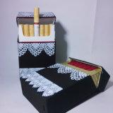 Étui à cigarette en silicone à motif creux blanc