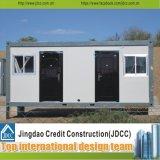 Дом контейнера стальной рамки плоский