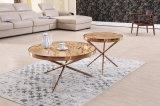 현대 Titanium+Marble 커피용 탁자