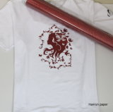 Funkeln-PU gegründetes Wärmeübertragung-Vinyl für Shirt-/Heat-Presse-Vinyl für das ganzes Gewebe