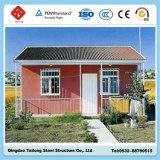 Vorfabrizierte Stahlkonstruktion-Rahmen-Häuser (heller Anzeigeinstrument-Stahl)