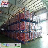 Cremalheira resistente ajustável aprovada do armazenamento do GV