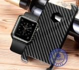 38mm Luxury Carbon Fiber Watch Protector Cover Case