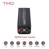 einphasiges 4000W Gleichstrom 24V Auto-zum reinen Sinus-Wellen-Sonnenenergie-Inverter Wechselstrom-220V mit USB-Stecker