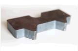 acier au carbone en acier inoxydable de machine de découpe laser CNC 1500W