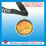 Mademedals su ordinazione Metal/Cheap Sport Medals/Metal Medals con Neck Ribbon