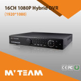 4PCS SATA 1080P Ahd, Tvi, Cvi 의 아날로그 잡종 NVR 16CH (62B16H80P)