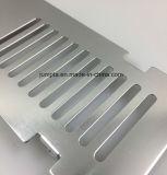 Алюминиевая штамповка, алюминиевый радиатор штамповка, пользовательские листовой металл штамповки из анодированного алюминия, алюминиевых изгиба алюминиевая штамповка с отверстием
