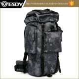 Pacote exterior Montanhismo 65L Saco de Campo Tactical Camouflage Backpack