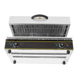 Handelsküche-Geräten-Edelstahl-Gas-KücheSalamander für Verkauf