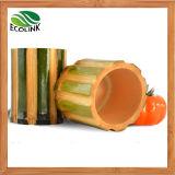 Potenciômetro de bambu natural/ Bambu Plantas suculentas Pot