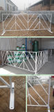 Barreras usadas cerca del control de muchedumbre de la barricada para el equipo del control de muchedumbre de la venta