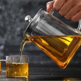 De Maker van de Thee van het Glas van de Waterkruik van de Thee van het Glas van de Theepot van de Koffie van het Glas van Pyrex