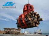 De Greep van het Logboek van het hydraulische of Hout van de Dieselmotor