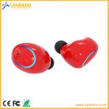 충전기 예를 가진 지능적인 전화를 위한 코드가 없는 소형 쌍둥이 에서 귀 헤드폰