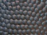 Kuh-Gummiblatt, Kuh-Gummimatte mit schwarzer Farbe