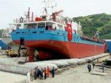 مطبّ قابل للنفخ بحريّة لأنّ سفينة يطلق ويسحب