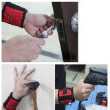 Черный цвет держателя инструмента магнитный браслет с 5 Блок сильные магниты