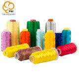 Cuerda de rosca de alta calidad 100% del bordado del filamento del poliester de la cuerda de rosca de la materia textil de la tela 20s/2