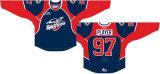 Customized Ontario Hockey League 2007-2014 Spitfires Windsor Home e hóquei no gelo Jersey