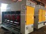 Máquina que ranura de la impresión de alta velocidad del papel acanalado