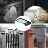 6 Bewegungs-Fühler-Garten-Yard-Wand-im Freienstraßenlaterne-Lampe der LED-Sonnenenergie-PIR