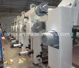 Máquina de impressão com rooteiro de quatro cores de forno duplo
