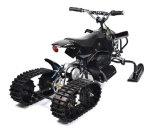 50ccディスクブレーキシステムが付いている小型電気雪のオートバイ