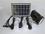 1つの太陽DIY太陽ランプの3PCSの現実的な太陽ホームシステムキットすべて