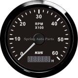 Самое лучшее Sale 85mm Tachometer Rpm Gauge 6000rpm для All Engines с Backlight