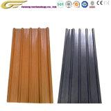 Pintura de color de los materiales de construcción de techos de cartón ondulado de la placa de acero galvanizado de hoja