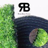 césped artificial sintetizado de la hierba de la decoración Anti-ULTRAVIOLETA del paisaje de 35m m para el jardín y el hogar