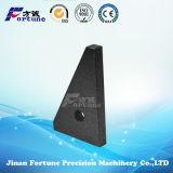 Китайский камень поставщиков природного камня черного гранита