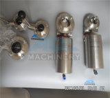 위생 중간 압력 1/2-10 자동화된 압축 공기를 넣은 나비 벨브