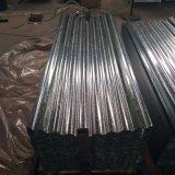 Dx51d+Z стали материалы гофрированный оцинкованный стальной лист с SGS