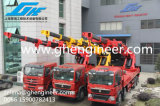 Grue télescopique hydraulique de camion de boum de Knucke de vente chaude