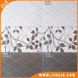 Azulejo de cerámica de la pared de Brown del material de construcción de la porcelana rústica impermeable de la flor