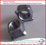 최신 복각 직류 전기를 통하는 스테인리스 Steel304/Carbon 강철 사각 Nut/DIN 557