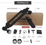 Le rotelle doppie di Replacaeable del motore del mozzo di versione di natale della batteria di Kooboard Koowheel 8600mAh hanno amplificato Longboard elettrico