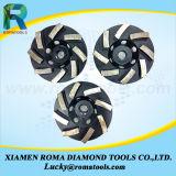 Strumenti abrasivi del diamante dei dischi di molatura per il processo di superficie di pietra