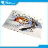 Livro infantil impresso com encadernação