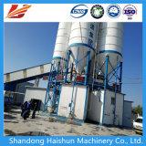 Hzs 90 Mobile fija mixta de hormigón de cemento el procesamiento por lotes/mezcla/Planta mezcladora